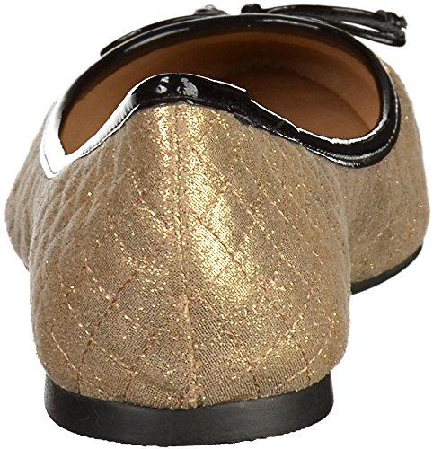 noir Ballerine Lillys or femmes Closet 4701885 nUqn0w76f
