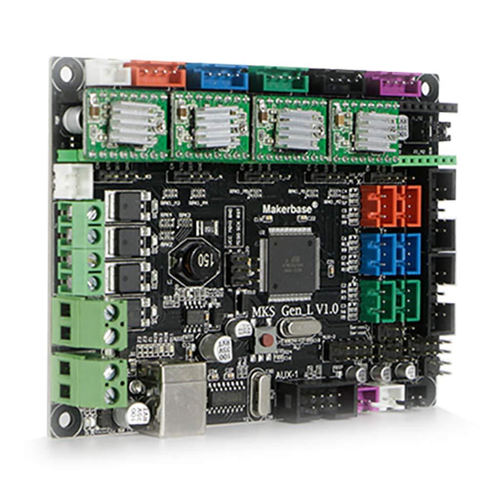 Amazon.com: jgaurora impresora 3d placa base para modelo a3s ...