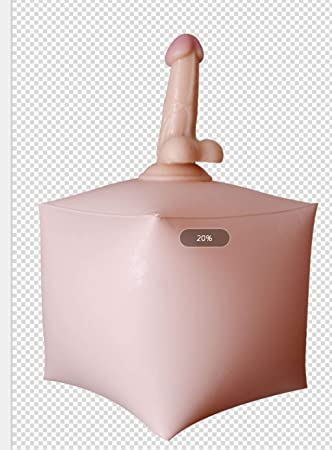 Dildo en cojín inflable/Silla de amor/Cojín vibrador / Asiento caliente / Resistente a 100 kg/MANGO Operación libre/Consoladores eróticos para ...