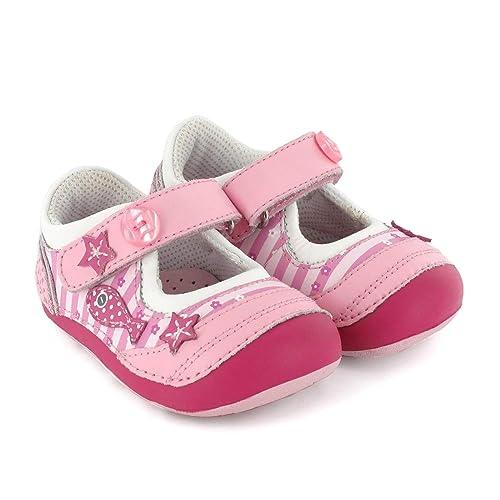 535e7a3c59e Zapato preandante de niño en Piel Marino con Blanco Lea Lelo: Amazon.es:  Zapatos y complementos