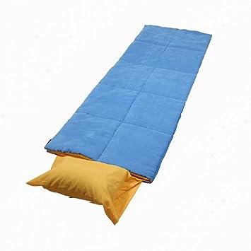 LJHA shuidai Saco de Dormir/Adultos/Ligero Portátil/Exterior e Interior Saco de Dormir Rectángulo de Algodón Creativo (190 + 35) * 75cm: Amazon.es: Deportes ...