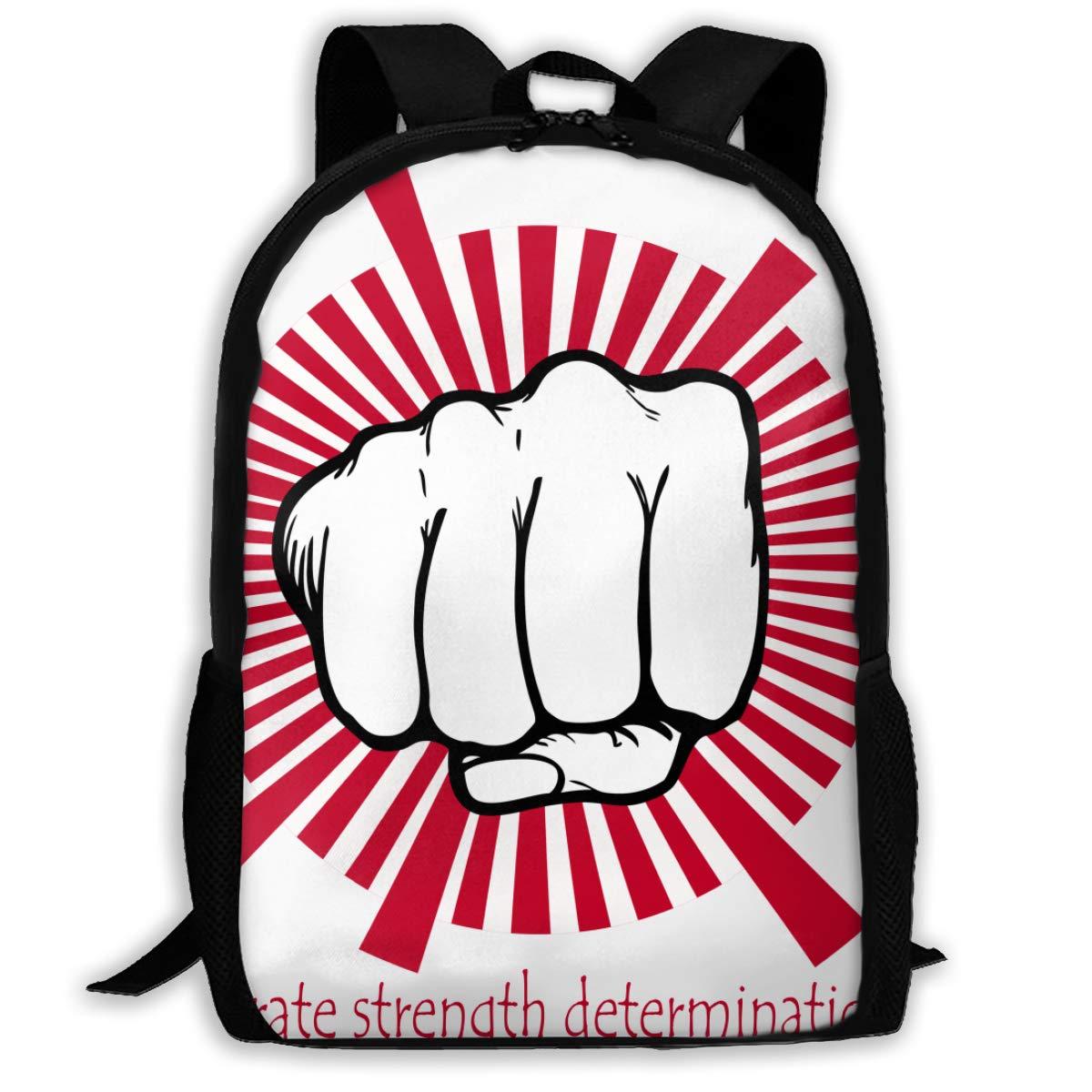 Karate Strength Determination Hip Hop Adult Unisex Shoulders Bag Taekwondo,shotokan Karate by Beatthebox