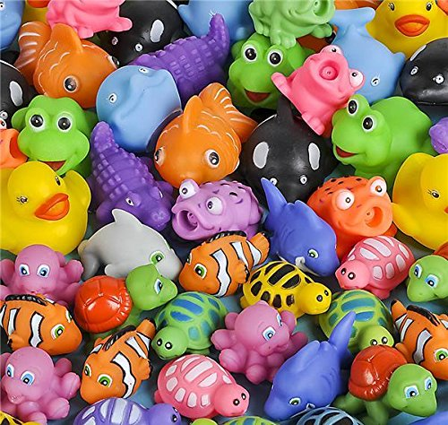 72 PC 2.75-3'' SQUIRT TOYS, Case of 4