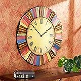 Salucci Decorative Wall Clock, 30.5 inches diameter x 1.5 inches deep