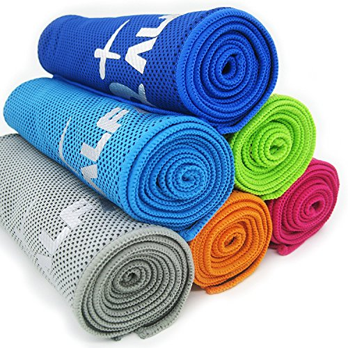 Alfamo Cooling Towel For Sports, Workout, Fitness, Gym
