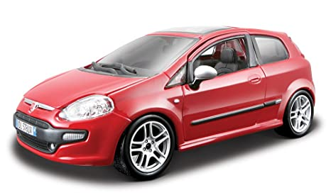 Image Unavailable. Image not available for. Color: Bburago - Fiat Punto EVO ...