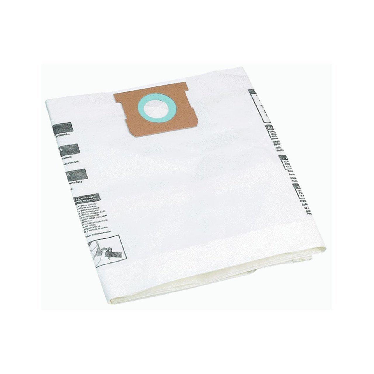 6 Shop Vac 10-14 Gallon Disposable Collection Bag, Genuine OEM Part 906-62-00 by Shop-Vac