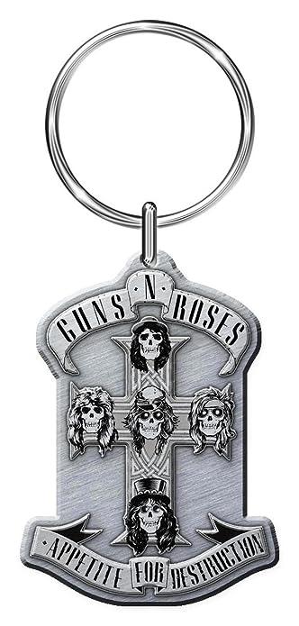 Guns N Roses G \ n \ R Appetite para Llavero metrópolis ...