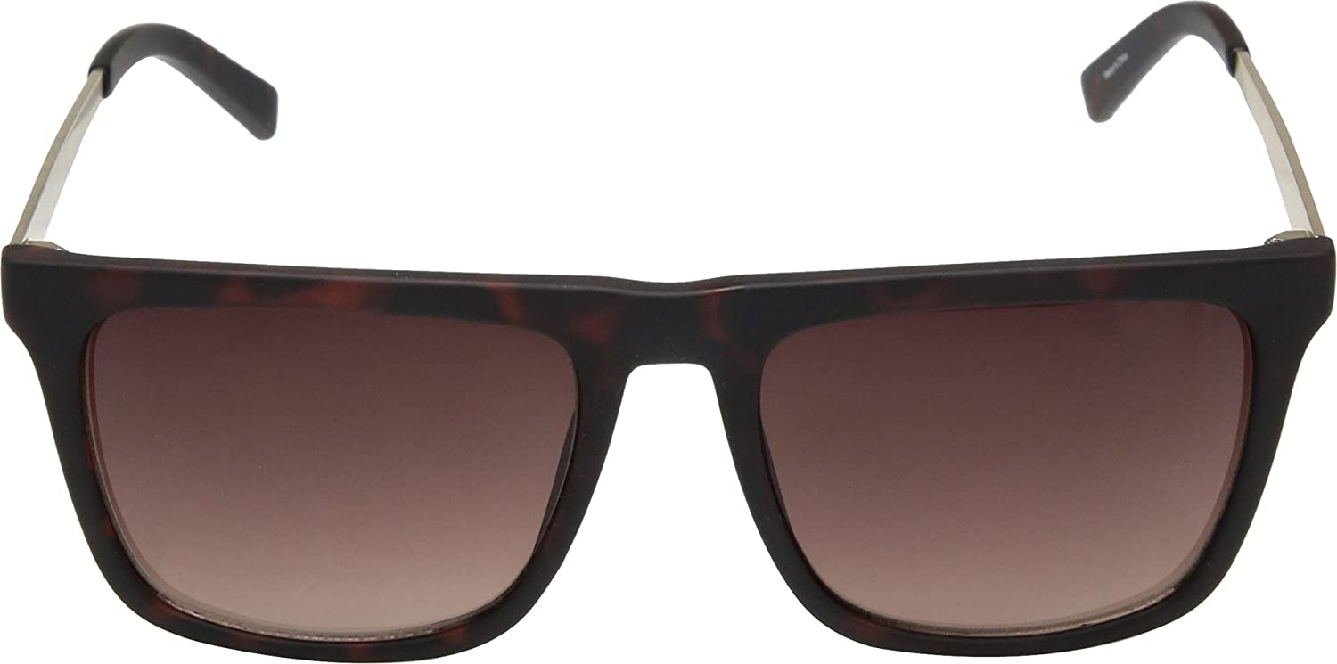 63a8a5e00193 Amazon.com  GUESS GF0176 Matte Havana With Gold Brown Gradient Lens One  Size  Clothing