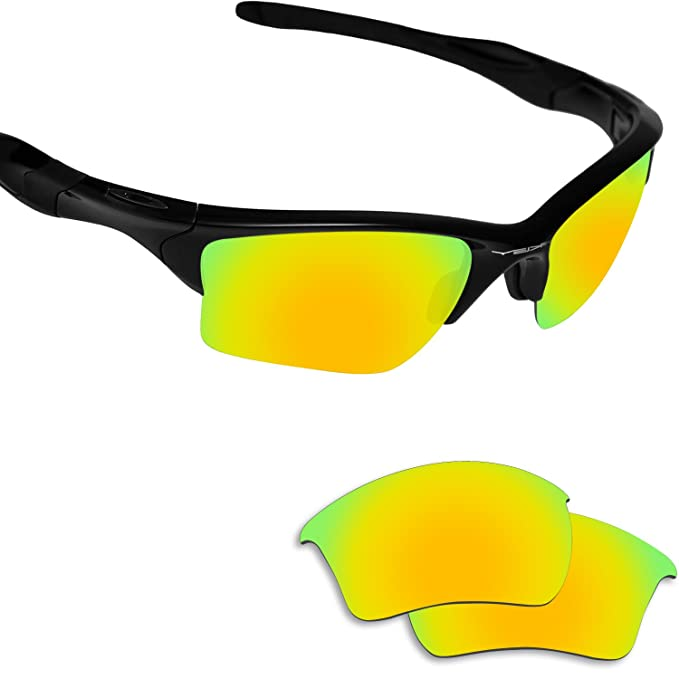 Fiskr Anti-saltwater Polarized Replacement Lenses for Oakley Half Jacket 2.0 XL Sunglasses