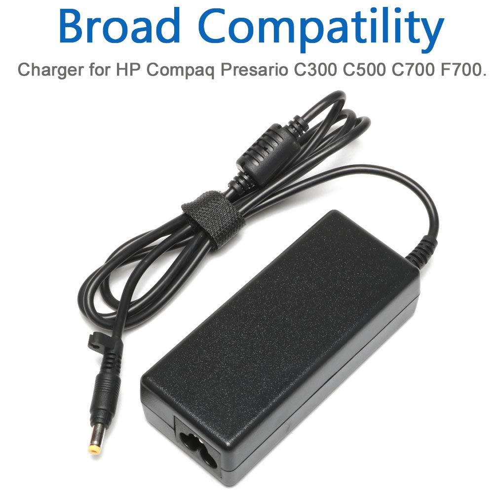 Amazon.com: Cargador/cable de alimentación de repuesto para ...