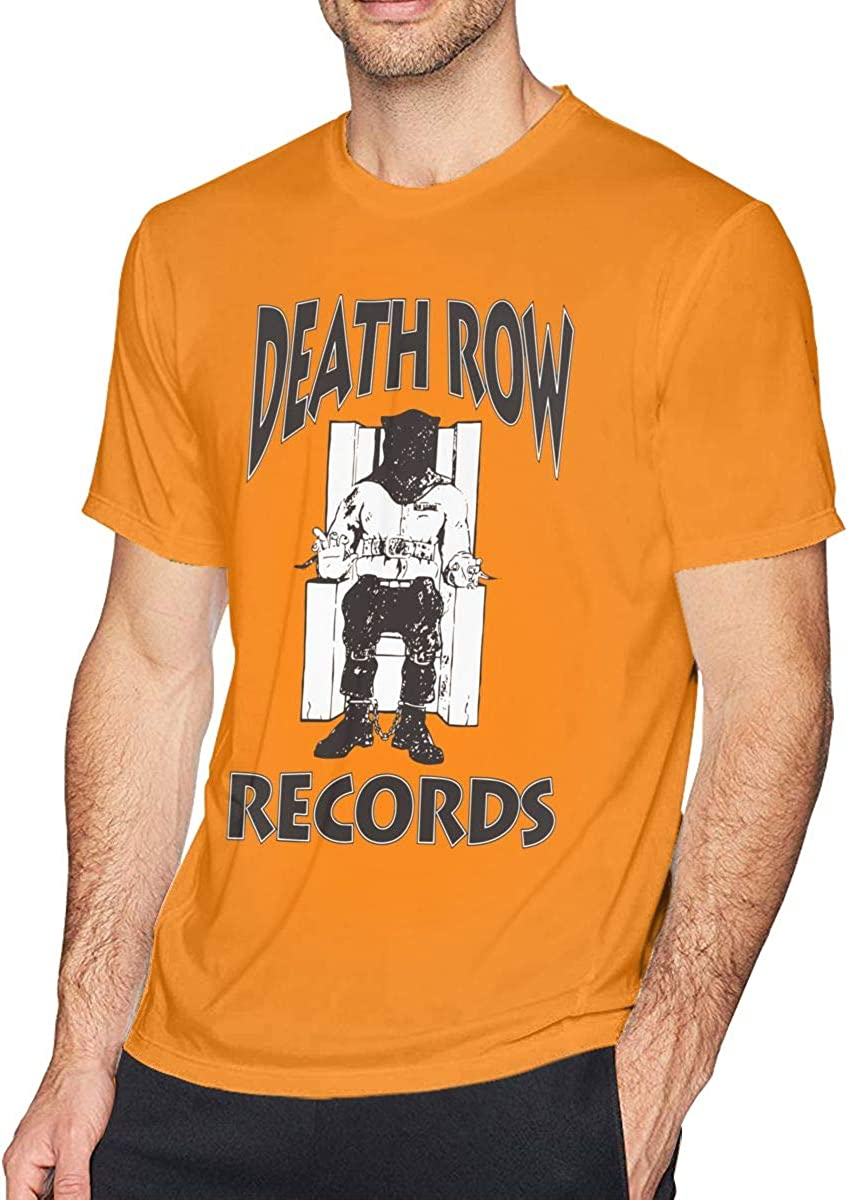 Death_row_records Relaxed T Shirts Short Sleeve Streetstyle Tees Tops