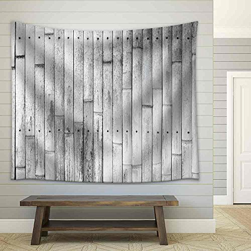 Bamboo Texture Background Fabric Wall Tapestry