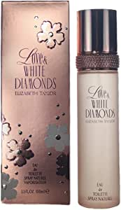 Elizabeth Taylor Love & White Diamonds Eau De Toilette 3.3 Oz/ 100 Ml - Spray, 100 ml