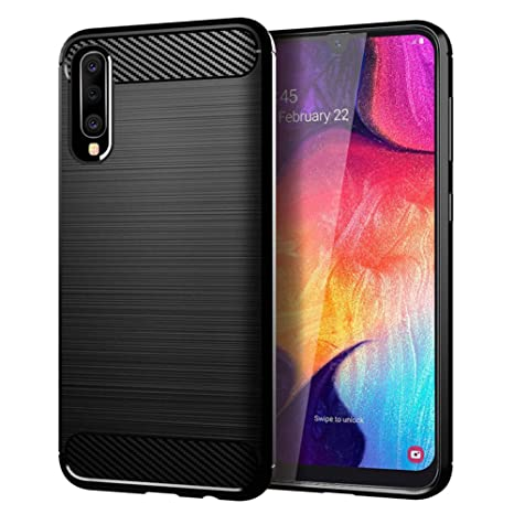 Samsung Galaxy A50 Case,MAIKEZI Soft TPU Brushed Anti-Fingerprint Full-Body Protective Phone Case Cover for Samsung Galaxy A50 2019 6.4