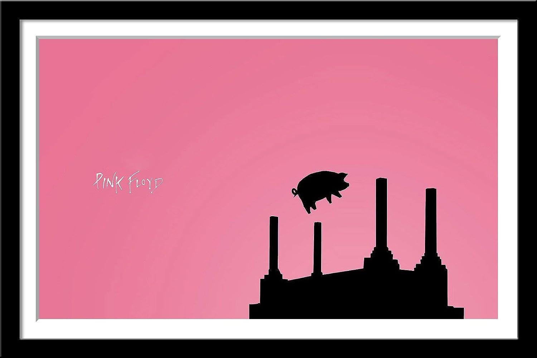 Tallenge - Pink Floyd - Pigs On Wings - Animals - Minimalist