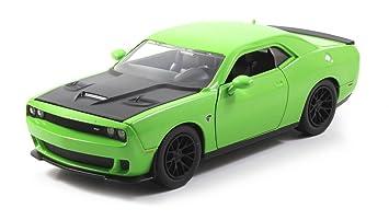2015 dodge challenger srt hellcat green 124 by jada 97854 - Dodge Challenger 2015 Srt8 White