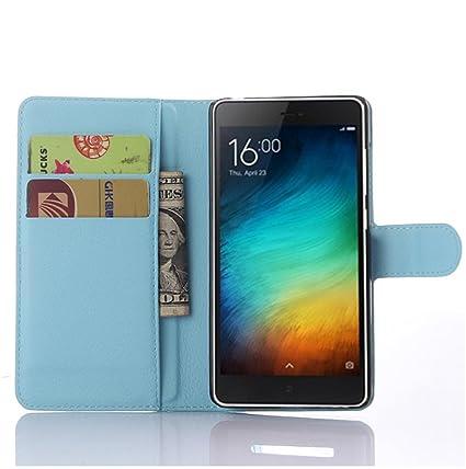 Amazon.com: Xiaomi Mi 4C Case–Manyip PU Leather Stand Wallet ...