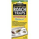Harris Roach Glue Traps w/ Lure (2-Pack), Natural & Pesticide Free