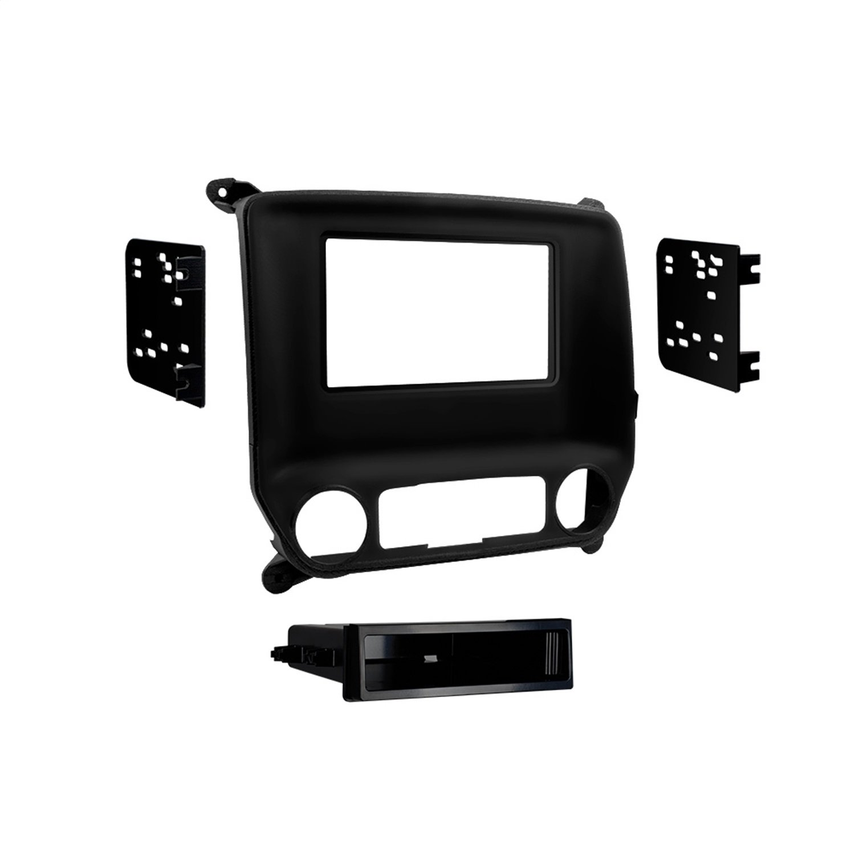 Metra 99-3014G Chevy Silverado and Sierra 2014-UP Single DIN/Double DIN (Black)