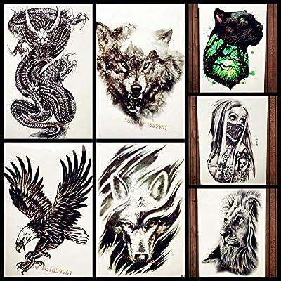 Tatuajes Temporales Mito Chino Dragon Ball Negro Tatuaje Temporal ...