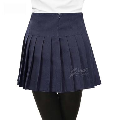 Escuela falda niñas pliegue uniforme todos los tamaños de colores ...