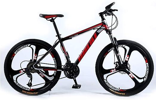 LISI Bicicleta de montaña para Adultos 26 Pulgadas 30 velocidades ...
