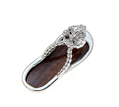 770410326c6f3 Image Unavailable. Image not available for. Color  Genuine hawaiian koa  wood slipper ...