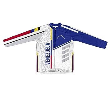 8cf407a9e Amazon.com   ScudoPro Venezuela Long Sleeve Cycling Jersey for Men ...