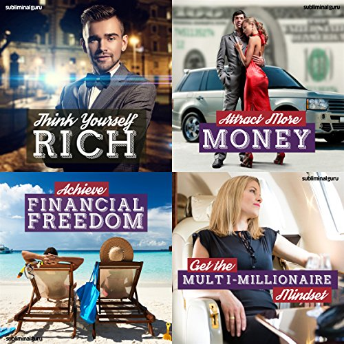 Millionaire Mindset Subliminal Messages Bundle: Access More of Life's Riches with Subliminal Messages