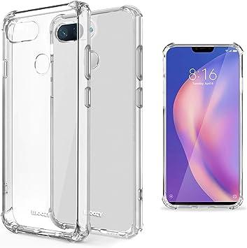Moozy Funda Silicona Antigolpes para Xiaomi Mi 8 Lite, Mi 8 Youth ...