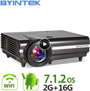 Amazon.com: BYINTEK Moon BT96Plus Android WiFi Smart Video ...