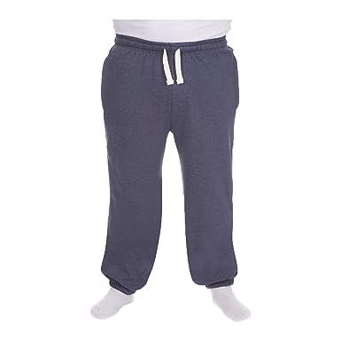 3d566831540f65 Men's Plus Size Jogging Bottoms Sweat Jog Pants Trouser Open Hem Size  3XL-6XL UK: Amazon.co.uk: Clothing