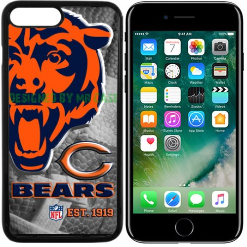 Bears Chicago Football New Black Apple iPhone 7 Plus Case By Mr Case