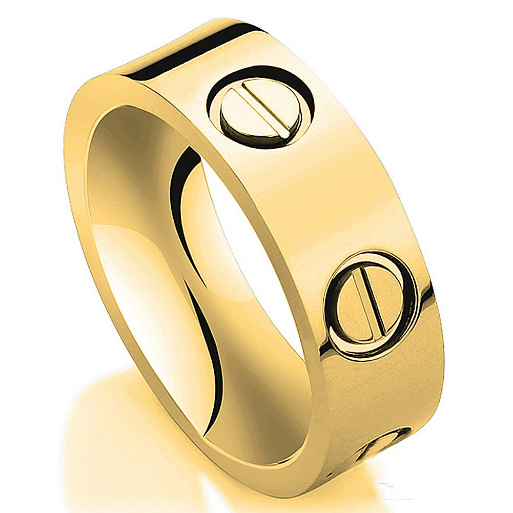 JoGray Love Ring-Gold Lifetime Just Love You 6MM in Width Sizes 8