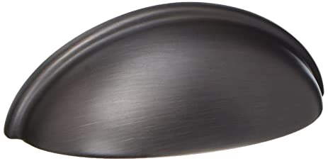 cosmas 783orb oil rubbed bronze cabinet hardware bin cup drawer handle pull 3u0026quot inch