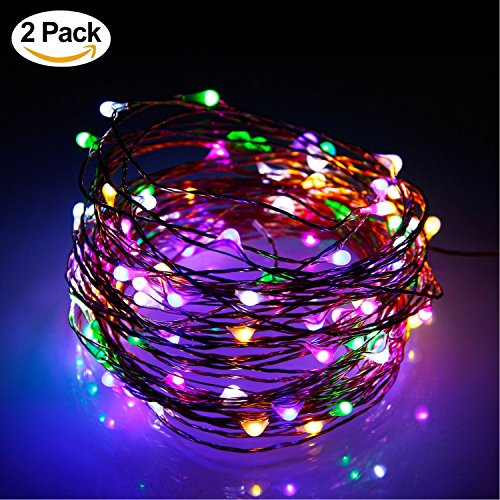 10M 100 LEDs String Fairy Light PURPLE - 2