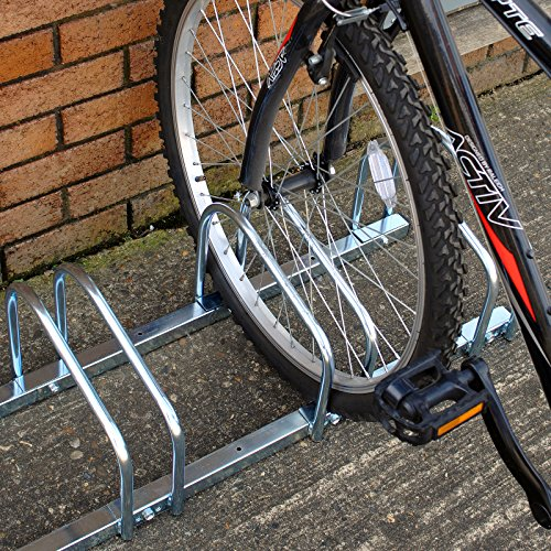 Hardcastle Floor Wall Mount Bicycle Rack Choice Of Size