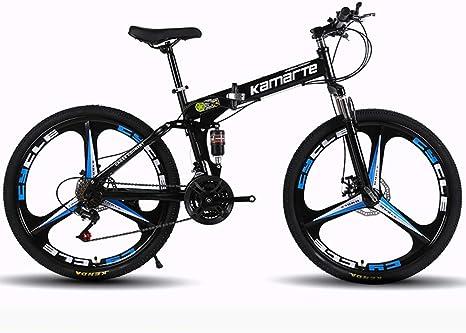 Bicicleta Plegable De Montaña, Frenos De Doble Disco De Velocidad ...