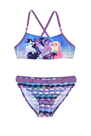 07fbdfd0f71db My Little Pony Girls' Two Piece Purple Violet: Amazon.co.uk: Clothing