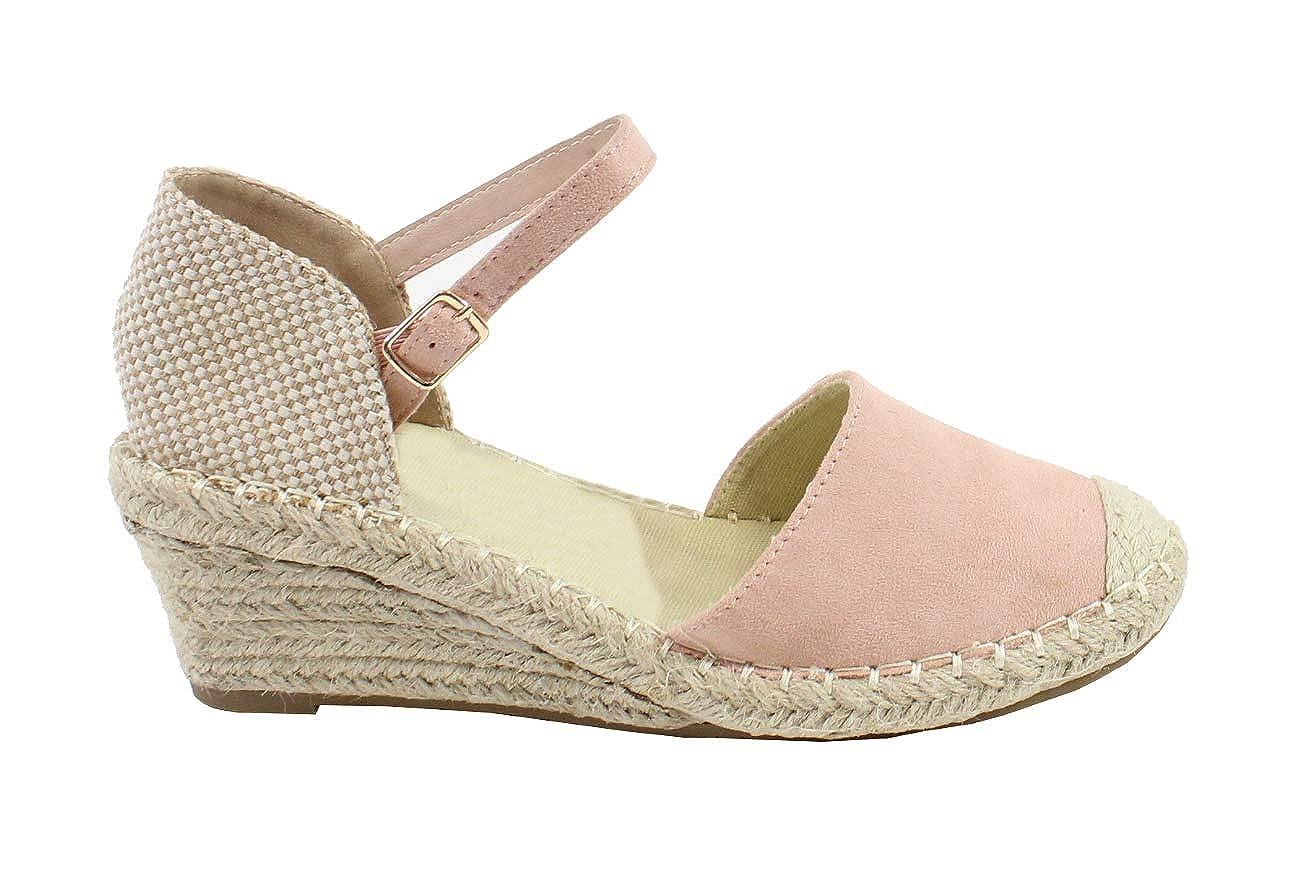 Espadrille /à Plateforme en Corde de Chanvre Femme By Shoes