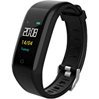 YOMYM Fitness Tracker, Seguimiento de Actividad Personalizado con Monitor de Ritmo cardíaco, 14 Modos Deportivos Smart Watch IP68 Podómetro Impermeable para Hombres, Mujeres y niños