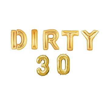 Amazon.com: Globos con letras doradas de 40 pulgadas con ...