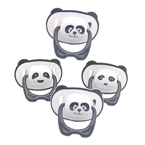 Toyvian 4 UNIDS Chupetes de Ortodoncia Value Pack de ...
