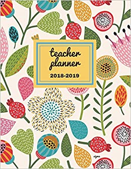 picture relating to Teacher Plan Books identify Instructor Planner 2018 - 2019 Sigma: Dated Lesson Application Reserve