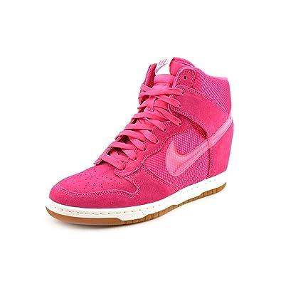 549e2d30b3b3 Nike Womens Dunk Sky hi mesh Womens hi top Trainers 579763 600 Sneakers Wedge  Shoes (
