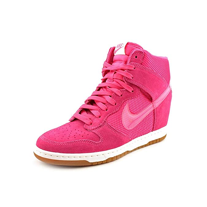 best sneakers 03cb0 04621 Amazon.com   NIKE Dunk Sky HI Mesh Womens Basketball Shoes 579763-600 Pink  Force 10 M US   Road Running