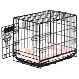 "Precision Pet 7011241"" ProValu, Single Door Dog Crate, Black"