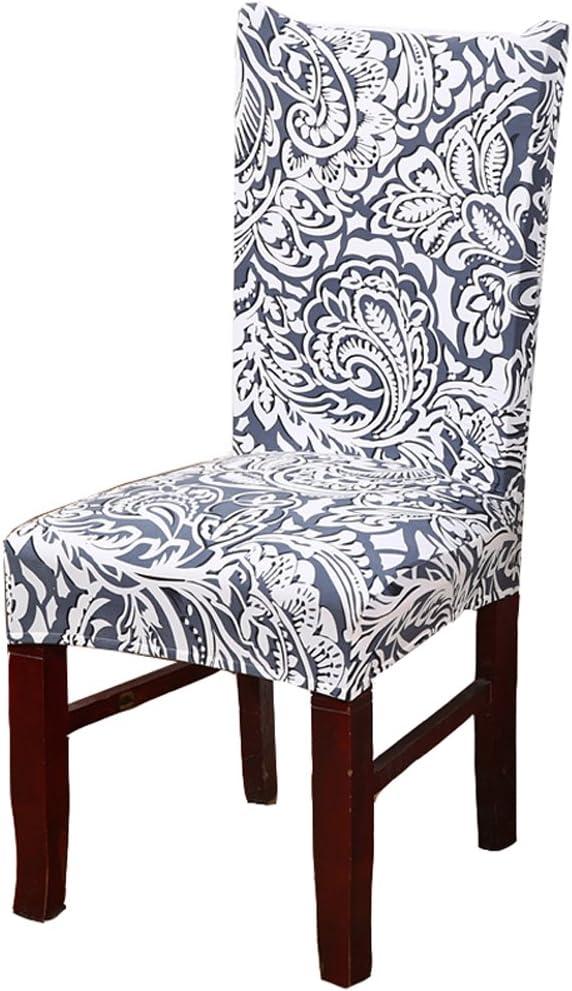 lavables extra/íbles muy ajustables el/ásticas 6 unidades de licra Fundas protectoras TEERFU para sillas de comedor de hoteles y bodas