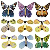 Blue Stones Magic Toys Hand Transformation Fly Butterfly Tricks Props Funny N Surprise Prank Joke Classic Toys YH229